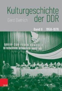 Cover Kulturgeschichte DDR