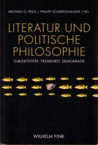 Cover Literatur und politische Philosophie