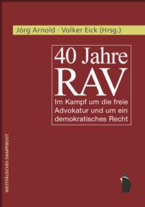 Cover 40 Jahre RAV